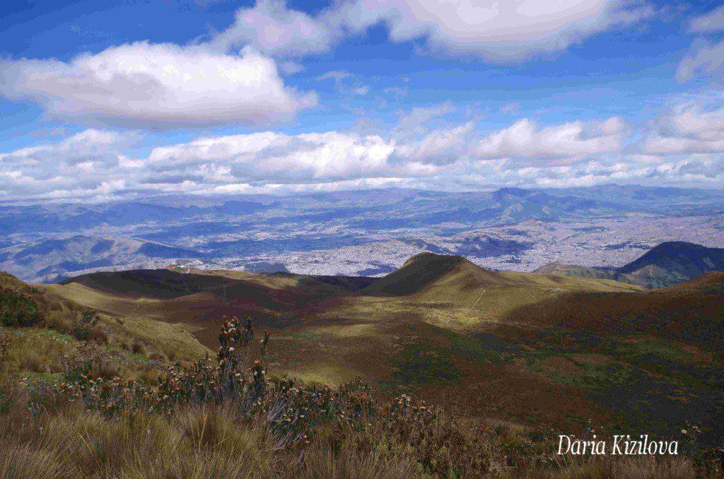 Поехать в горы Эквадора