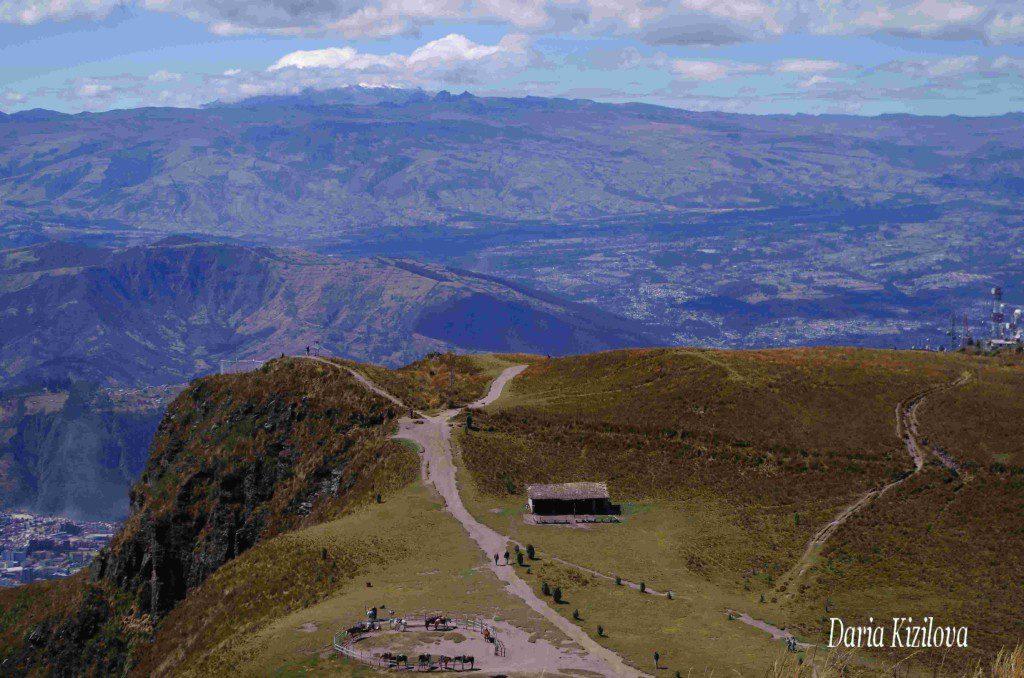 Ecuador montañoso