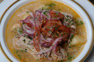 Fish Soup Ecuador