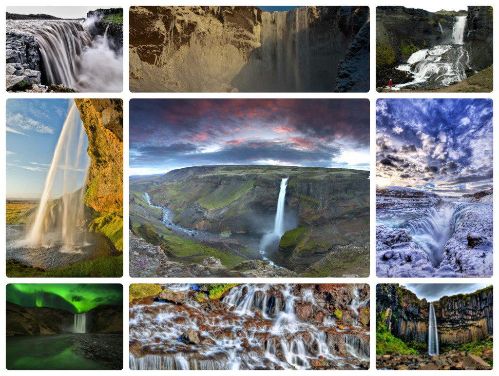Водопады Исландия