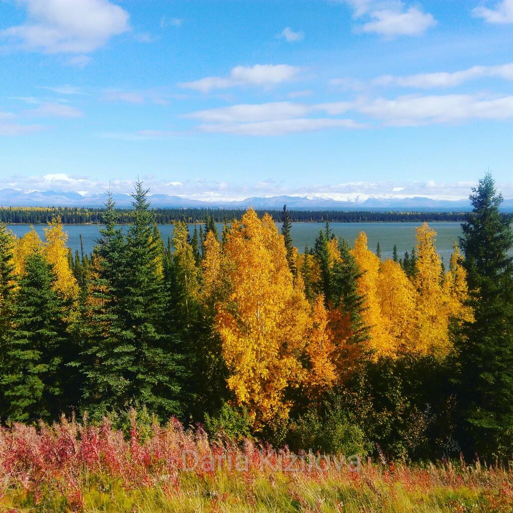 Осень на Аляске