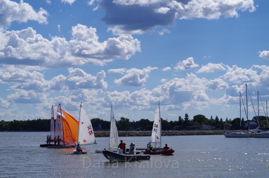 Sailing in Canada