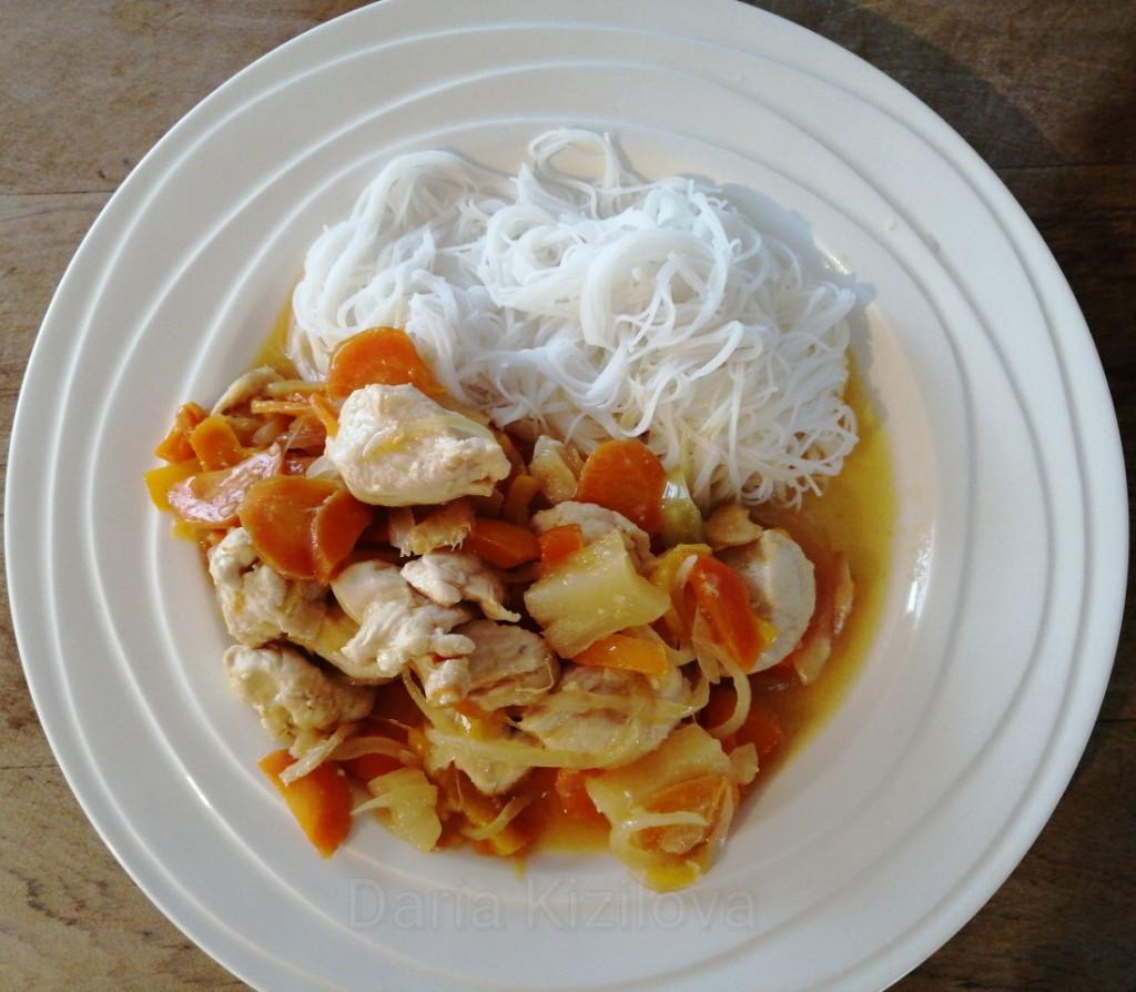 Recipe of Thai Chicken