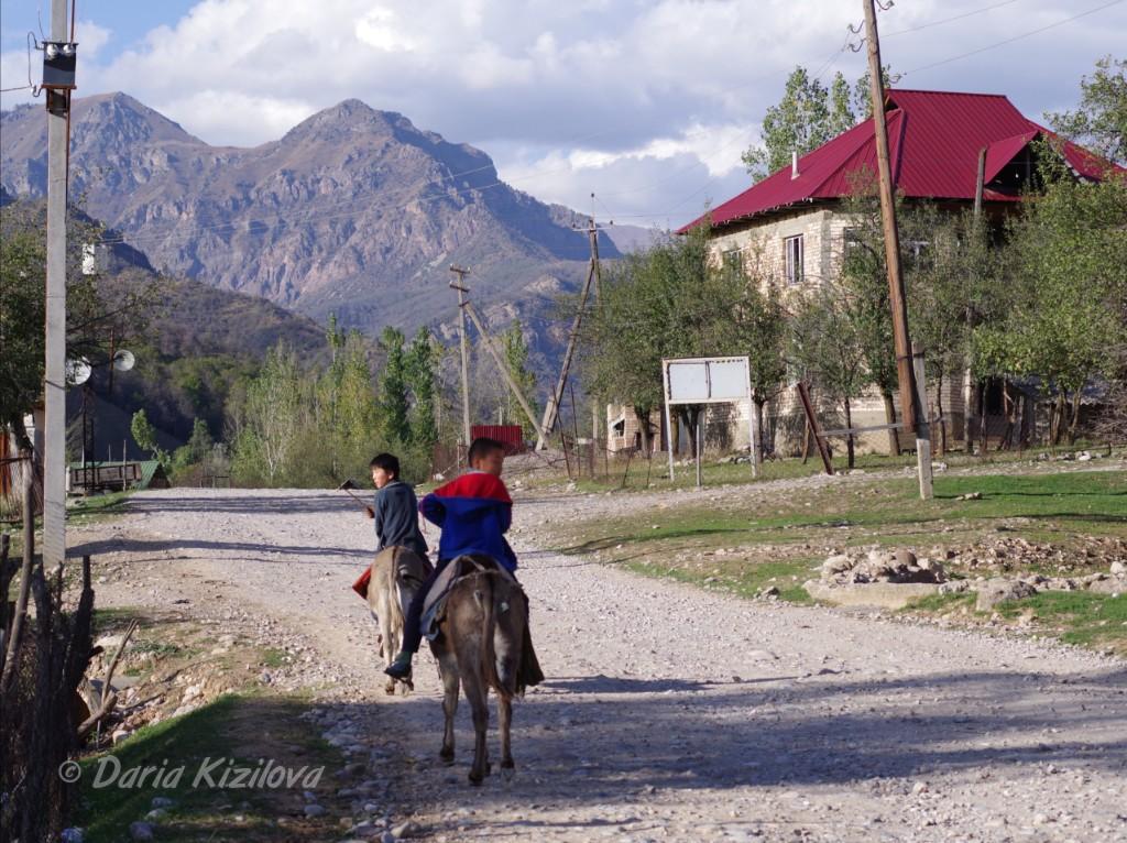 Traveling in Kyrgyzstan
